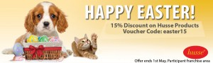Husse UK Easter offer