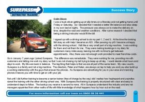 Surepass Brochure 2016 - 17